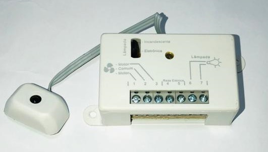 Receptor Do Controle Remoto Vent De Teto Pw (só O Receptor)