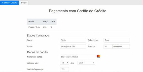 Script Checkout Transparente Mercadopago Em Php