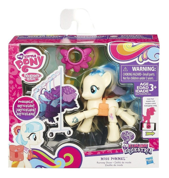 My Little Pony Rainbow Dash Articulado Hasbro Original