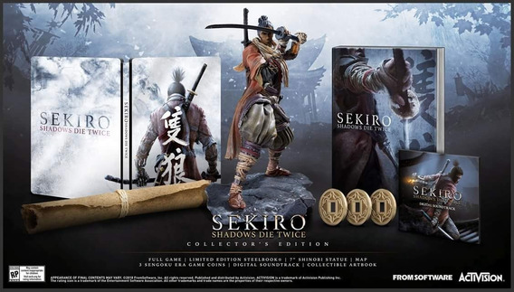 Sekiro Shadows Die Twice Collector Edition Ps4 - No Brasil