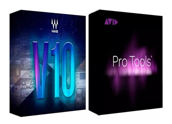 Pro Tools 12.5.0.395 Hd E Waves 10 2019 Só Windows