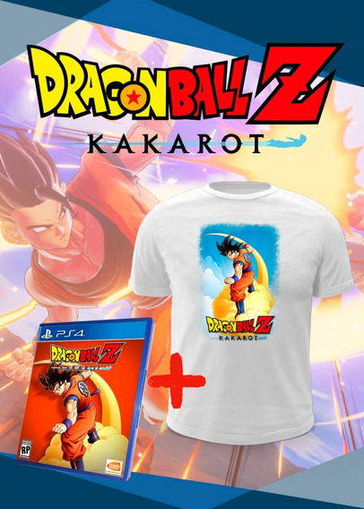 Dragon Ball Z Kakarot + Camiseta Brinde - Ps4 Midia Fisica