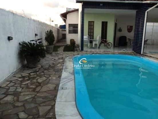 Casa Com 3 Dormitórios À Venda, 150 M² Por R$ 450.000 - Bessa - João Pessoa/pb - Ca0157