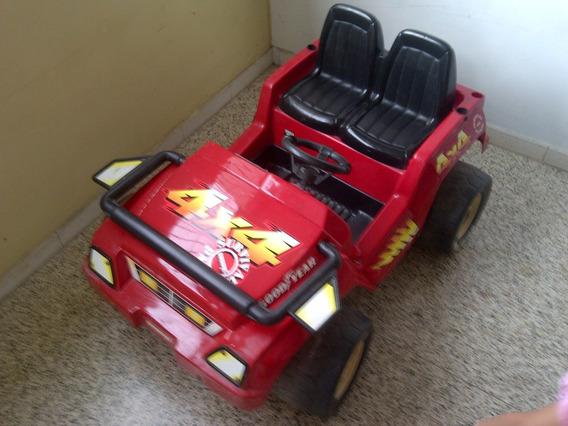 Carro Jeep Eléctrico Para Niños Sin Batería Remate Regalo