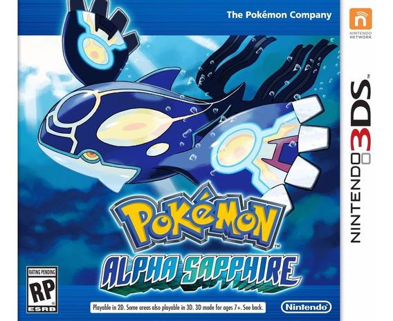 Pokemon Alpha Sapphire 3ds Lacrado