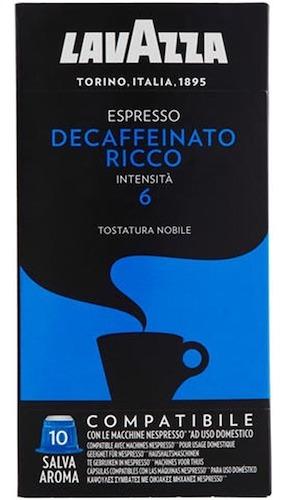 Cápsulas Nespresso Compatible Lavazza Descafeinado Int. 6