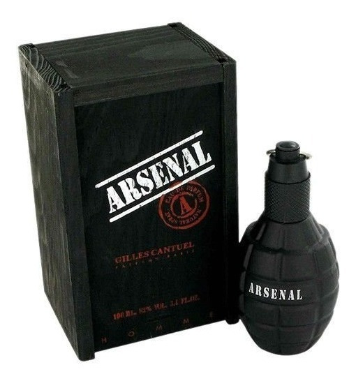 Perfume Arsenal Black Edt 100ml Original
