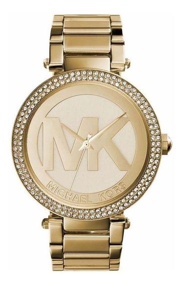 Relógio Feminino Michael Kors Original Dourado Mk5784