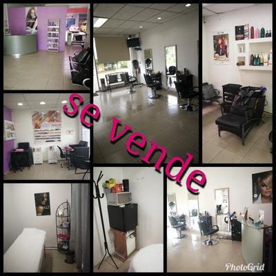 Se Vende Sala De Belleza Con Clientela