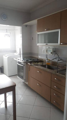 Apartamento Com 2 Dormitórios À Venda, 77 M² Por R$ 430.000 - Santa Paula - São Caetano Do Sul/sp - Ap0944