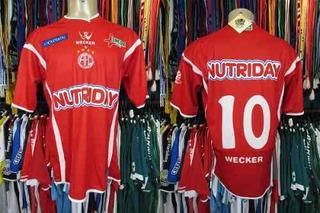 América De Natal 2005 Camisa Titular Tamanho G Número 10.
