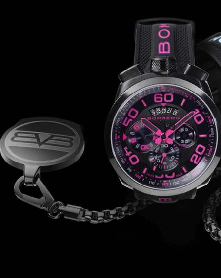 Reloj Bomberg Rosa