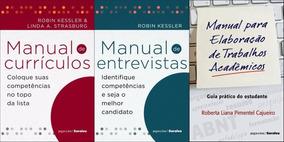 Kit Currículos, Entrevistas E Trabalhos Ac. + Brinde