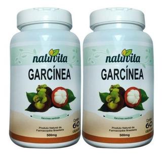 Kit 2 Garcinia Cambogia - Natuvita - 60 Capsulas