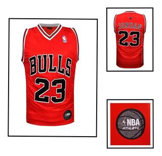 Camiseta Nba Michael Jordan 23 Chicago Bulls Basquet Oficial