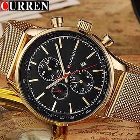 Relógio Masculino Curren 8227 Luxo Original Frete Grátis!