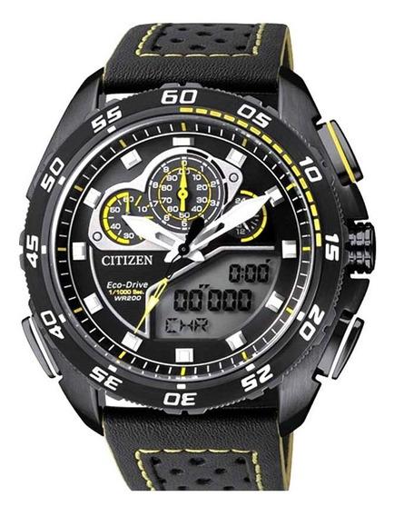 Relógio Citizen Masculino Eco Drive Jw0125-00e / Tz10119y