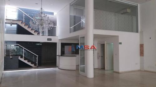 Prédio Comercial Diferenciado Para Alugar, 522 M² Por R$ 30.000/mês - Perdizes - São Paulo/sp - Pr0198