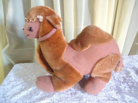 Camelo Em Pelucia Antigo Arabe Lindo