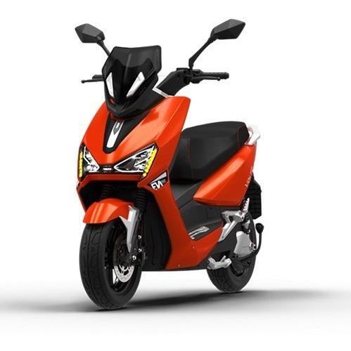 Imagem 1 de 10 de Scooter Moto Elétrica Voltz Ev1 Sport Laranja - Uma Bateria