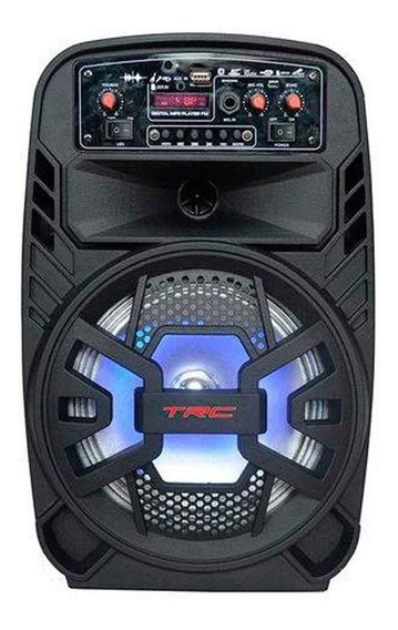Caixa De Som Amplificada Bluetooth 100w Rms Trc510