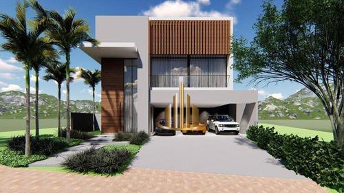 Casa Com 4 Suites À Venda, 388 M² Por R$ 3.300.000 - Gênesis 2 - Santana De Parnaíba/sp - Ca2266