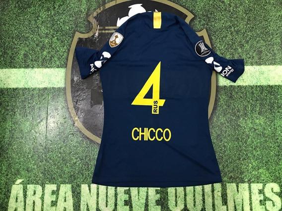 Camiseta Boca Titular 2019 Copa Libertadores #4 Chicco
