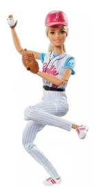 Barbie Esportista - Jogadora De Baseballl Mattel Dvf68