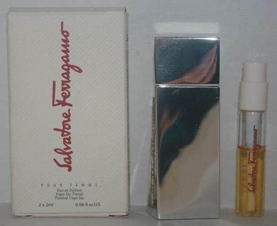 Miniatura De Perfume: Salvatore Ferragamo Pour Femme - 2 Ml