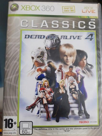 Jogo De Xbox 360: Dead Or Alive 4