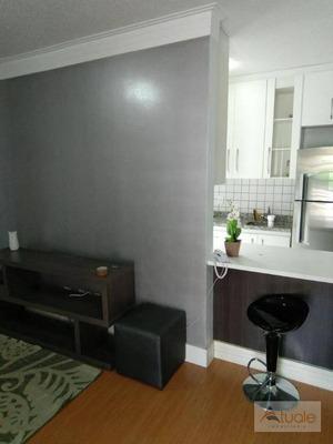 Apartamento Com 2 Dormitórios Para Alugar, 56 M² - Parque Villa Flores - Sumaré/sp - Ap0489
