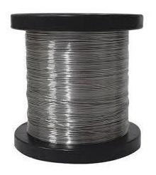 Bobina Fio De Aço Inox Aisi 304l Cerca Eletrica 1,2mm