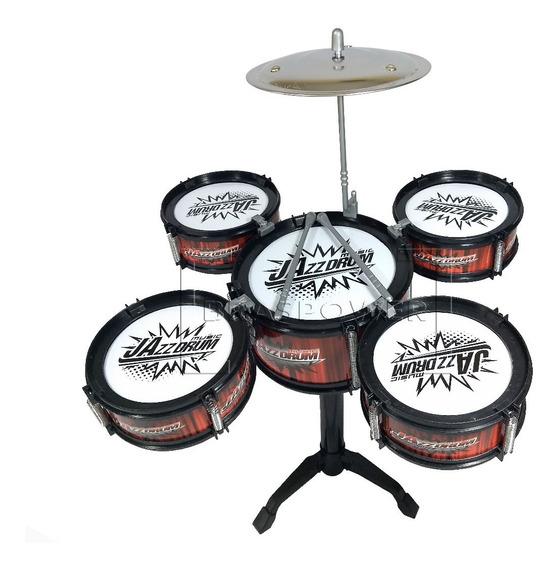 Mini Bateria Infantil 5 Tambores - Drum Fanatics