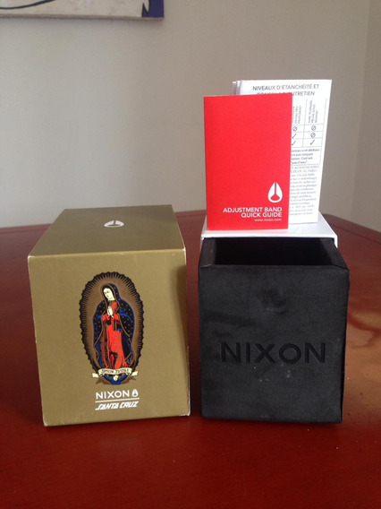 Relogio Nixon/santa Cruz (model Jason Jesse - Gold)