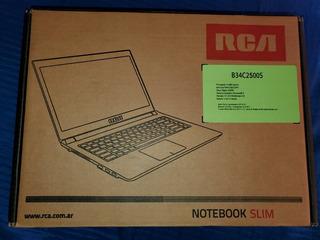 Notebook Slim Rca B34c2500s