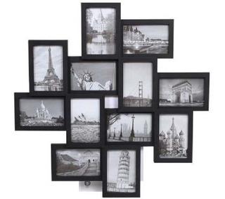 Portaretratos 12 Fotos Desniveles Premium Decorativo Promo