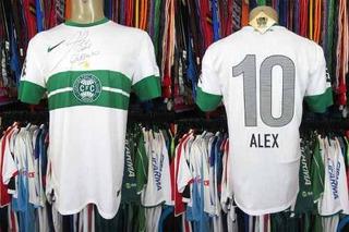 Coritiba 2013 Camisa Titular Tamanho M Número 10 Alex. (b)