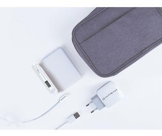 Kit Viagem Xtrax Apple/power Bank 5000/carregador/cabo Mfi