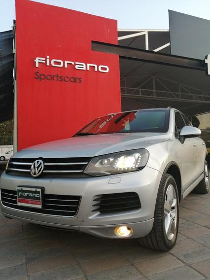 Vw Touareg 3.0 T Diesel At 2012 Blindada Nivel 4 Plus