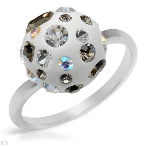 Anillo De Plata Con Cristales 02267876