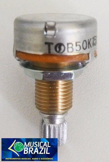 Potenciometro Noble B50k 16-18 Eixo Longo - Promoçao