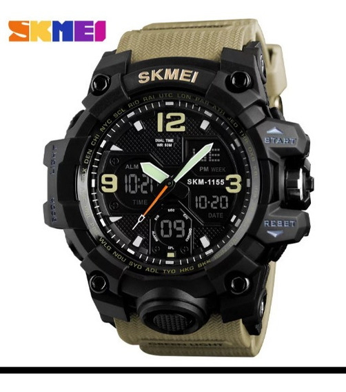 Relógio Esportivo Militar Skmei A Prova Dágua 5atm .