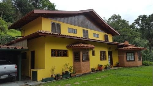Casa Em Santo Antonio Do Pinhal Lugar Privilegiado  - Cs-181