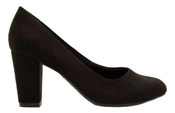 Zapatos Clásicos Mujer Microfibra Negro Ramarim