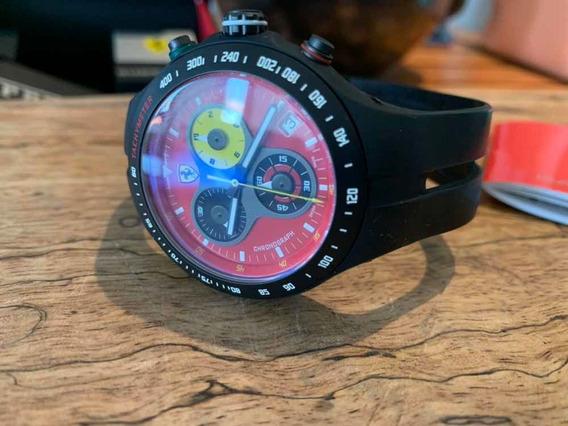 Relógio Scuderia Ferrari Jumbo Maquinário Suíço Eta
