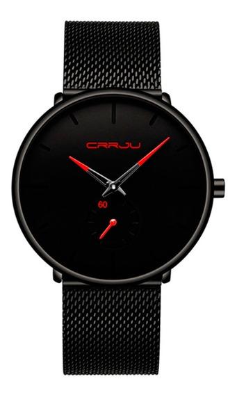 Reloj Crrju Hombre Diseño Ejecutivo Premium Envío Gratis