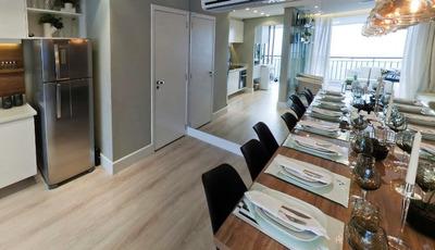 Apartamento Para Venda Em São Paulo, Cambuci, 2 Dormitórios, 1 Banheiro, 1 Vaga - Lv004c
