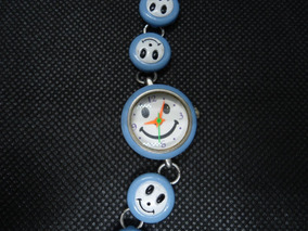 Relógio Infantil Carinha Feliz Quartz