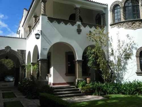 Magnifica Casa En Renta Estilo Colonial Californiano Ideal Para Embajadas.