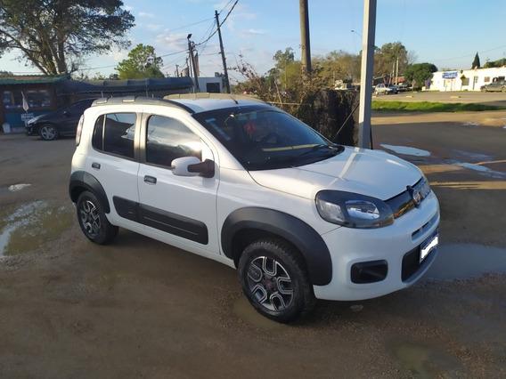 Fiat Way Blanco 2017 Con 83.000 Km